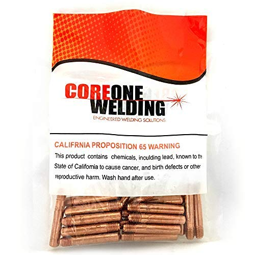 Contact Tip .035 Tweco Style Model 14-35 25 Pack Coreone Welding Solutions
