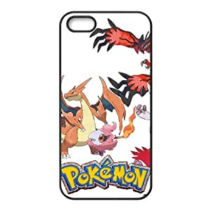 (DCJA) iPhone 5 5s Cell Phone Case Black Pokemon