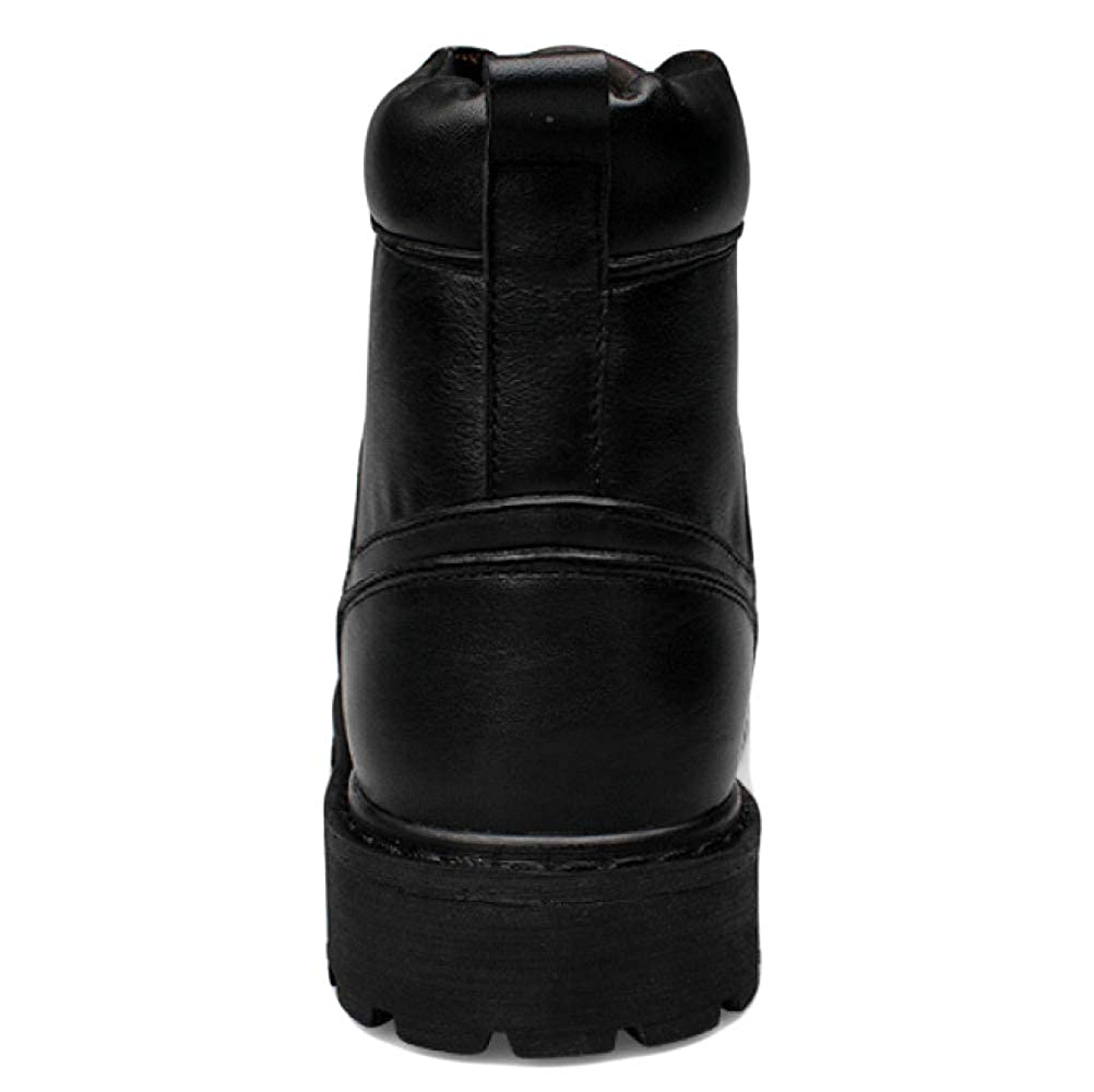 Mens Big Head Lederschuhe Hohe Hilfe Martin Stiefel Und Winddicht Und Stiefel Warm Komfortable Rutschfeste Arbeit Stiefel Desert Stiefel f743dd