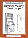 img - for Furniture Making Plain and Simple book / textbook / text book