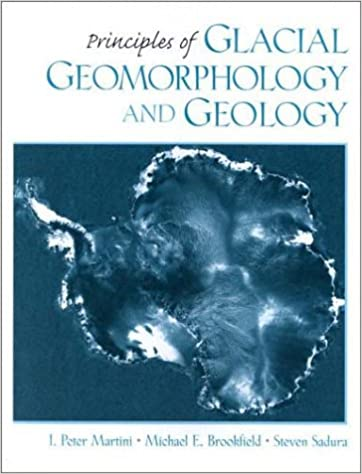 Principles Of Glacial Geomorphology And Geology I Peter Martini