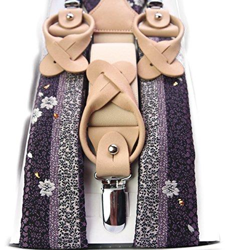 Four-Seasons-Mens-Brocade-Japanese-Pattern-Suspenders-13-36-51-inch