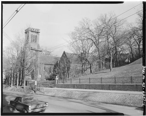 Photo: Church of the Holy Cross,Eighth & Grand Streets,Troy,Rensselaer - Cross Ny County