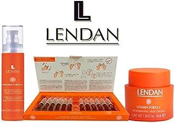 Lendan Vitamin Forza C Total Pack 3 Productos: Amazon.es: Salud y ...