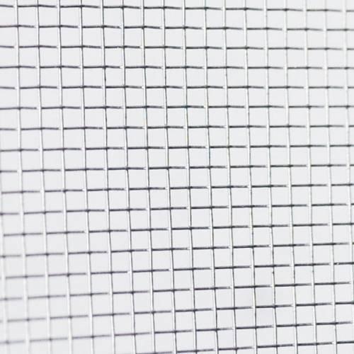 Phif Toile moustiquaire à Mailles Fines en Aluminium Largeur 100 cm