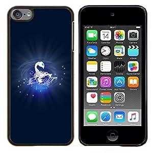Be-Star Único Patrón Plástico Duro Fundas Cover Cubre Hard Case Cover Para iPod Touch 6 ( Scorpius Escorpión )