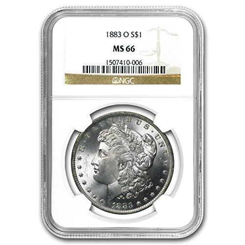 1883 O Morgan Dollar MS-66 NGC $1 MS-66 NGC
