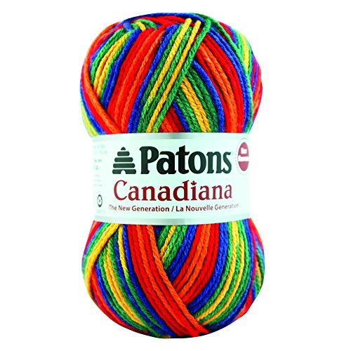Patons Canadiana Yarn Ombres Rainbow product image