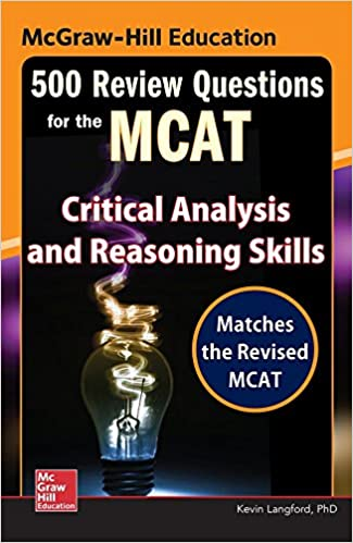McgrawHill Education  Review Questions For The Mcat Critical