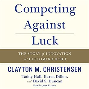 Competing Against Luck Audiobook