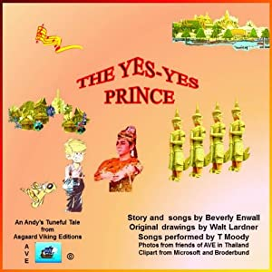 The Yes Yes Prince (An Andy Tuneful Tale) Audiobook
