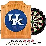 Trademark Gameroom University of Kentucky Wood Dart Cabinet Set - Reflection