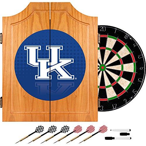 Trademark Gameroom University of Kentucky Wood Dart Cabinet Set - Reflection by Trademark Gameroom