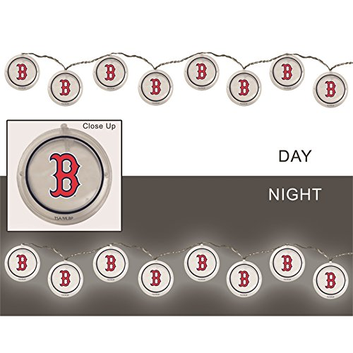 Team Sports America String Lights, Boston Red Sox