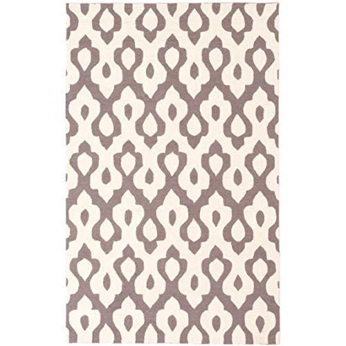Ecarpetgallery Infinity Blue/Grey Wool Hand-Knotted Made Area Rug - 5' x 8' from eCarpet Gallery