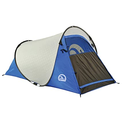 Igloo Pop-Up II Dome Tent (1-Person) Blue/Grey  sc 1 st  Amazon.com & Amazon.com : Igloo Pop-Up II Dome Tent (1-Person) Blue/Grey ...