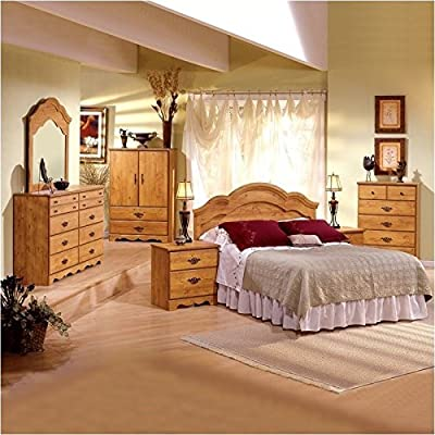 Pemberly Row Double Dresser in Country Pine