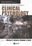 Handbook of Research Methods in Clinical Psychology, , 1405132795