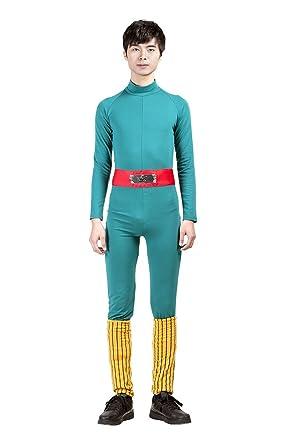 Mtxc Men's Naruto Rock Lee Cosplay Costume 1st Ver