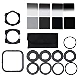 Andoer Professional Universal Neutral Density ND2 4 8 16 Filter Kit for Cokin P Set SLR DSLR Camera Lens Camera Photo Accessories
