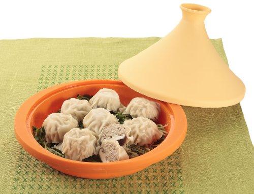 CB Japan 7.8inchs Valencia Orange Silicon Tagine Pot (with Recipes) 5 Japan Import.