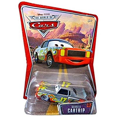 Disney / Pixar CARS Movie 1:55 Die Cast Car Series 43 World of Cars Darrell Cartrip: Toys & Games [5Bkhe0203501]