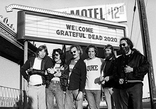 """Wall Calendar 2020 [12 pages 8""""x11""""] Grateful Dead Vintage Music Poster Photo Magazine Cover"""