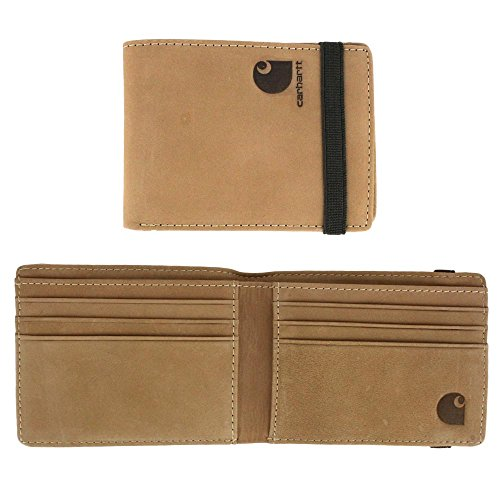 Carhartt Men's 61-2202 Front Pocket Wallet - One Size Fits All - Tan