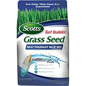 Scotts Turf Builder Grass Seed - Heat Tolerant Blue Mix, 7-Pound