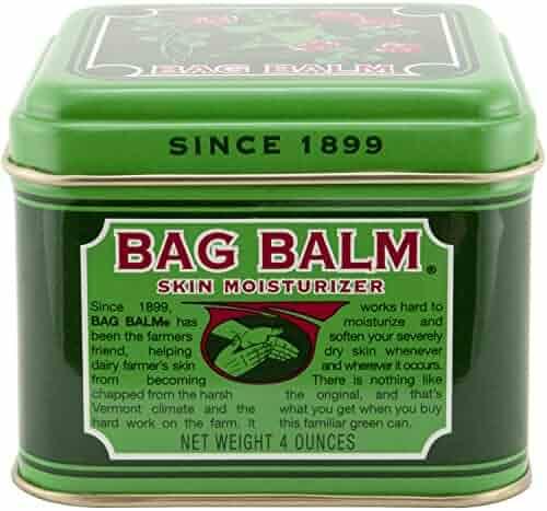 Vermont's Original Bag Balm Skin Moisturizer 4 Ounce Tin