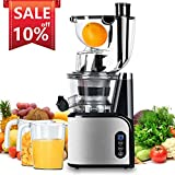 Best Masticating Juicers - Aobosi Slow Masticating Juicer 83mm(3.15inch) Wide Chute Juice Review