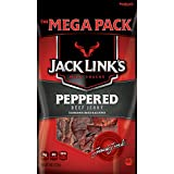 Jack Links Beef Jerky, Peppered, 8 Ounce