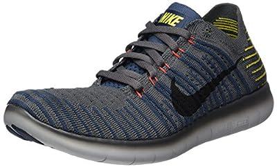 Nike Men's Free RN Flyknit Running Shoes Dark Grey 831069-008 (11)