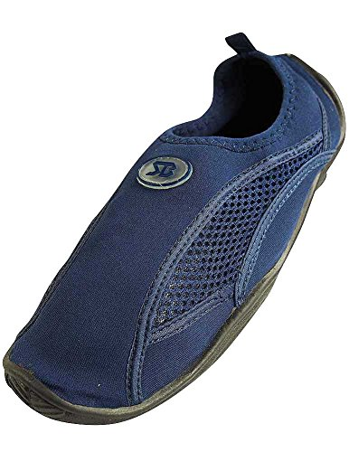 Mens Slip auf Wasser Pool Aqua Socke Marine 5909