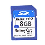 YOUNGFLY Information Data Stored Equipment Memory SD Card 8GB