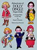 img - for Adventures of Dolly Dingle Paper Dolls: 16 Antique Plates in Full Color book / textbook / text book