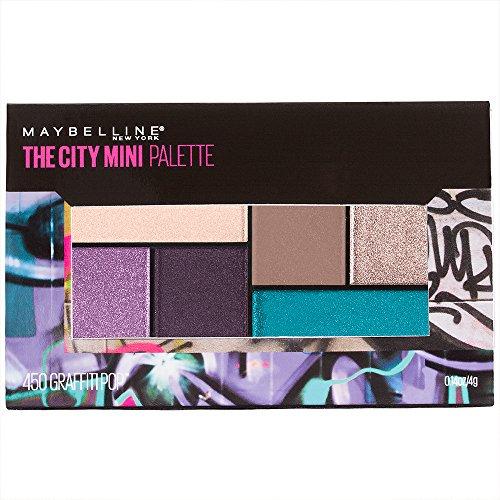 Maybelline Makeup The City Mini Eyeshadow Palette, Graffiti Pop Eyeshadow, 0.14 oz