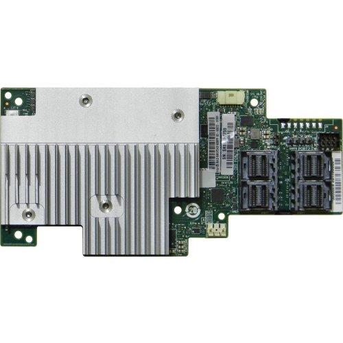 Intel RAID Module RMSP3AD160F - 12Gb/s SAS - PCI Express 3.0 x8 - Mezzanine - RAID Supported - 0, 1, 10, 5, 50, 6, 60, JBOD RAID Level - 16 Total SAS Port(s) - 16 SAS Port(s) Internal - PC, Linux - 4 GB