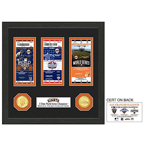 MLB San Francisco Giants World Series Ticket Collection, 17