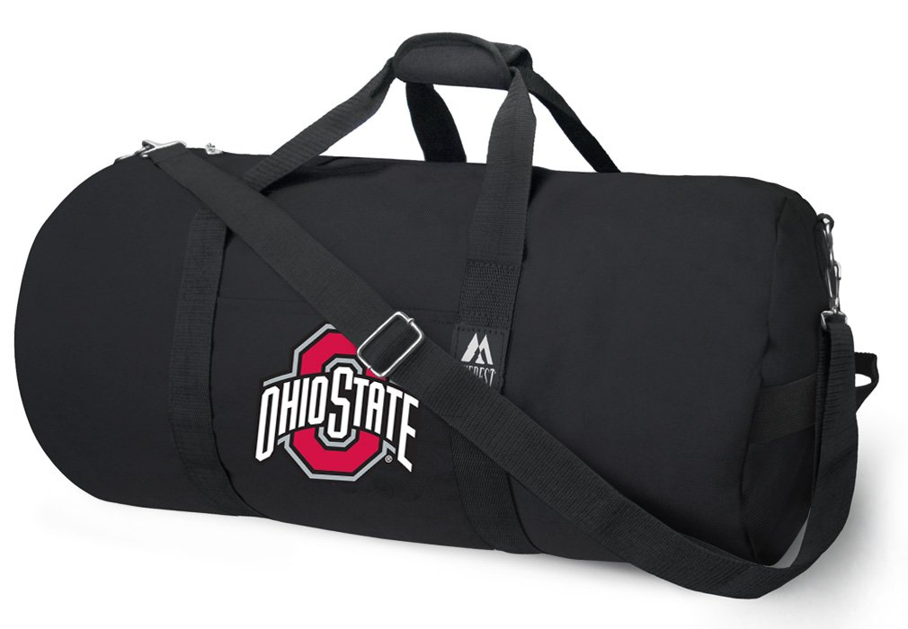 Broad Bay OFFICIAL OSU Buckeyes Duffle Bag or Ohio State University Gym Bags Suitcases