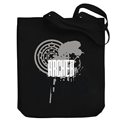 Teeburon Archer never loses Canvas Tote Bag