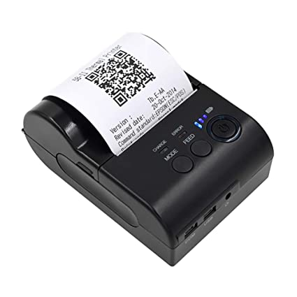 ZUEN Impresoras portátiles inalámbricas, BT Impresora de ...