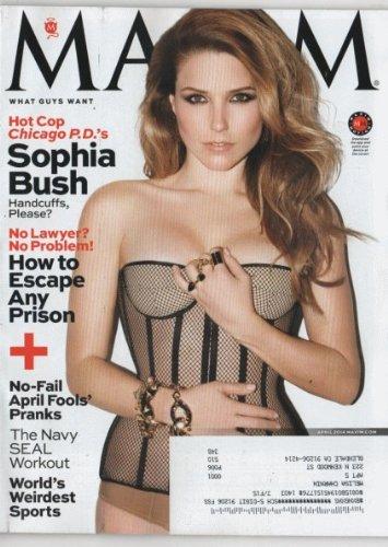 Maxim 2014 April - Sophia Bush + 7 More Pages Inside Magazine (Sophia Bush Bush)