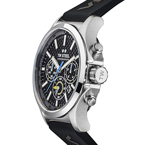 Amazon.com: TW Steel Mens TW939 Analog Display Quartz Black Watch: Watches