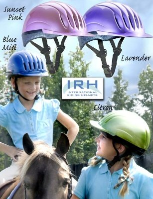 Equi-Lite Schooling Helmet for Kids | Adjustable Horse Riding Helmets for Young Equestrian - Helmet Riding Dfs