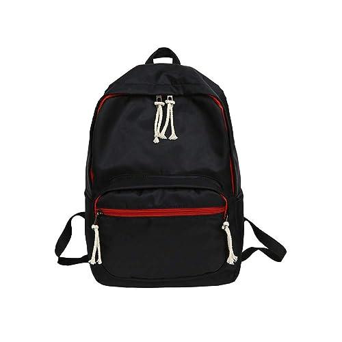 VHVCX Escuela De La Universidad De La Moda De Nylon Mochila Mochila Los Hombres De Las Mujeres En Forma Para 15.6Inch Ordenador Portátil A4 Libro Big Bag ...