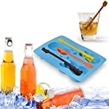 Bargain World Acoustic Guitar Chocolate Mould Maker Cake Ice Tray Jelly Party