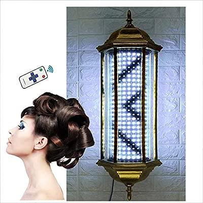 CVFDGETS Barber Pole LED Retro Rotación A Prueba De Agua ...