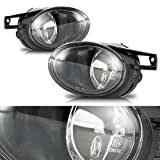 CCIYU Clear Lens OE/Replacement Fog Light Assembly for 2006-2010 Volkswagen Passat Pair Set
