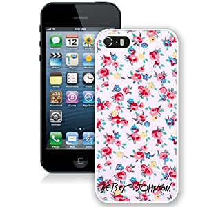 Easy Use Betsey Johnson 09 iPhone 4s Generation Cell Phone Case in White